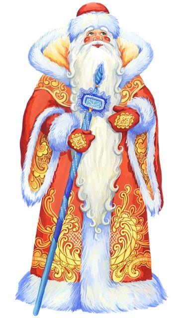 Картинка с Дедом Морозом для детей