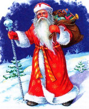 Картинка с Дедом Морозом