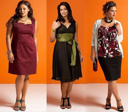 Что одеть в год Петуха 2017 полным женщинам?