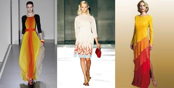 Какого цвета платья в этом году одеть на новый год