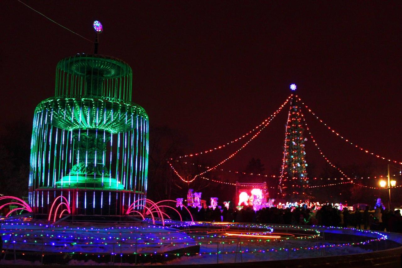 Новый год 2017 в Омске