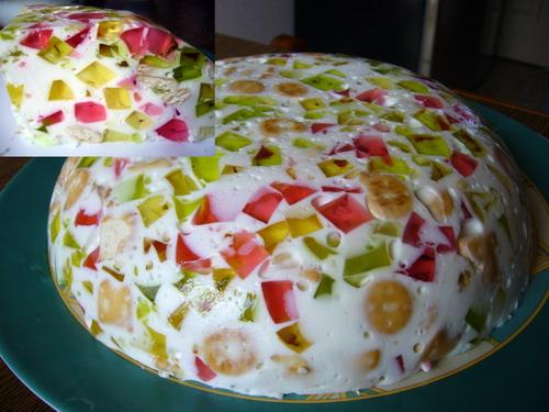 Торт битое стекло на Новый год 2017: рецепт с фото.