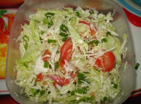 Салат со свежей капустой и морковью рецепт пошагово