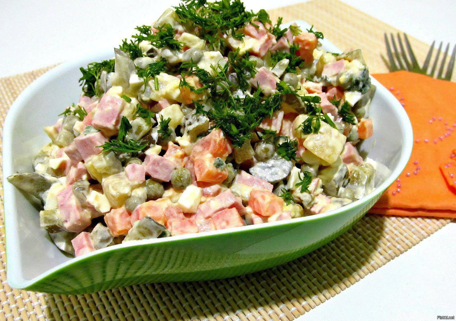 Фото: Пошаговый рецепт салата