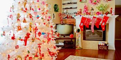 Как украсить дом на Новый год 2017?