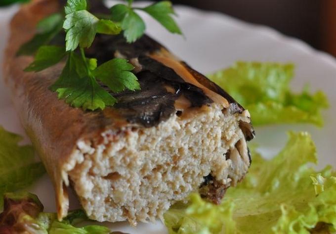Фаршированная скумбрия с луком и морковью: рецепт с фото